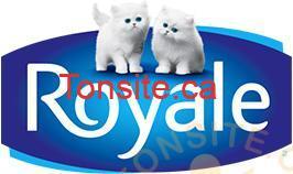 logo ROYALE - 5$ en coupons rabais sur les produits Royale