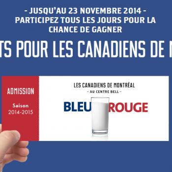 natrel concours 350x350 - Concours Natrel: Gagnez 1 des 3 ensemble-cadeaux VIP pour assister à un match à domicile du Canadiens de Montréal et plus!
