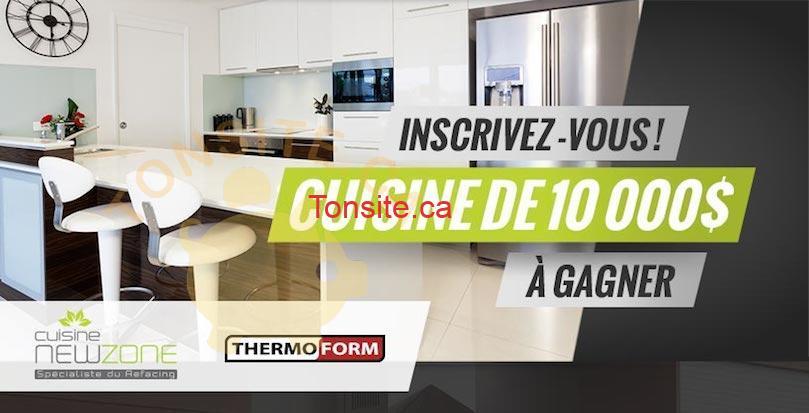 newzone concours - Cuisine NewZone: Gagnez une cuisine de 10.000$