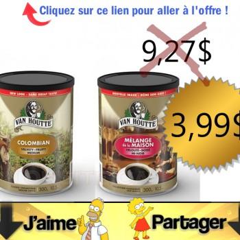 vanhoutte 399 300g 350x350 - Café Van Houtte (300g) à 3,99$ au lieu de 9,27$ (après coupon)