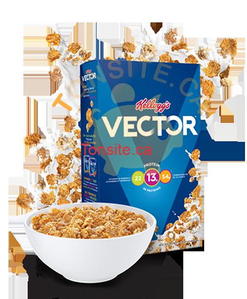 vector400 - Céréales Vector de Kellogg's à 49¢ seulement!