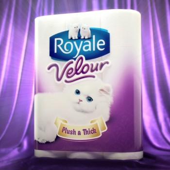 velour screen 350x350 - Papier hygiénique Royale Velour (15 rouleaux doubles) à 4,44$ au lieu de 10.99$