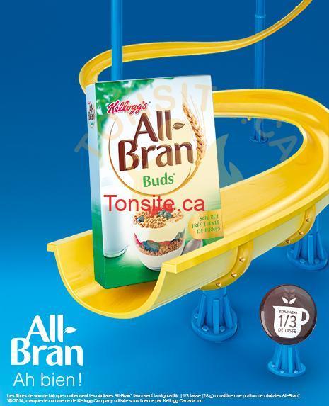 all bran - Céréales All-Bran: Coupon (Achetez-en 1, obtenez-en 1 gratuit)