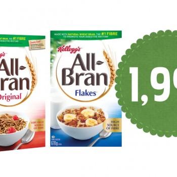 allbran 199 350x350 - Céréales All-Bran de Kellogg's à 1,99$ après coupon