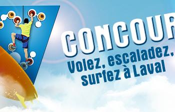 concours laval 350x225 - Concours Tourisme Laval: Gagnez 1 des 4 chèques cadeau (valeur de 1000$)