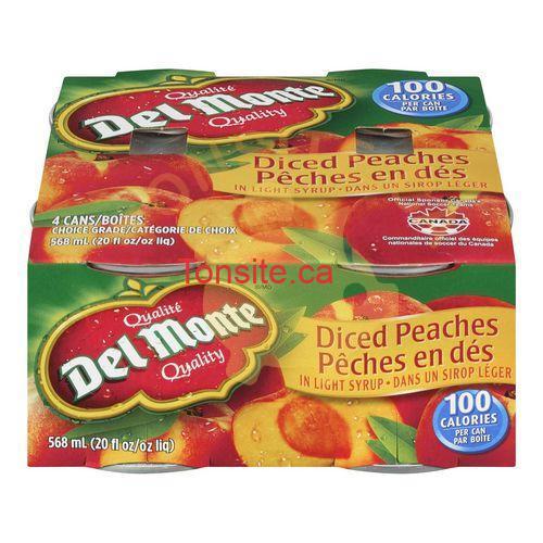 delmonte 4x - Coupes de fruits Del Monte à 1.38$ après coupon!