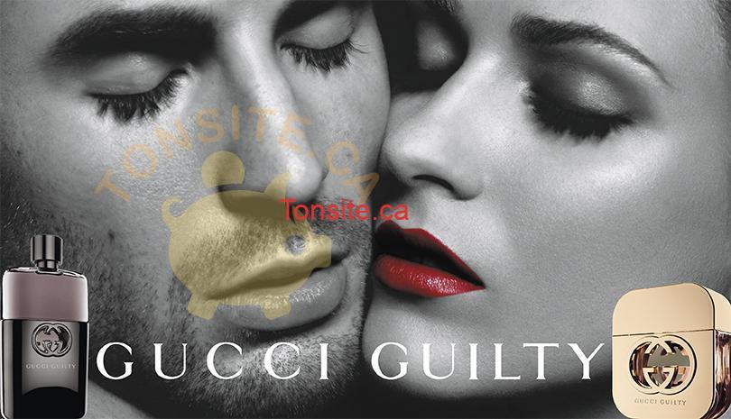 gucci - GRATUIT: Obtenez un échantillon gratuit de l'eau de parfum Gucci Guilty Intense