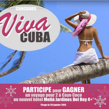 jaimonvoyage concours 350x350 - Concours Jaimonvoyage: Gagnez un voyage pour 2 à Cayo Coco à Cuba!