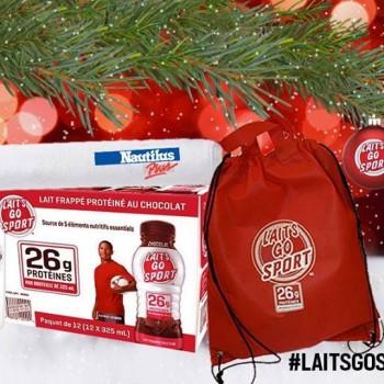 laitsgosport concours 350x350 - Concours Lait's Go Sport: Gagnez un ensemble cadeau comprenant un abonement d'un an chez Nautilus Plus