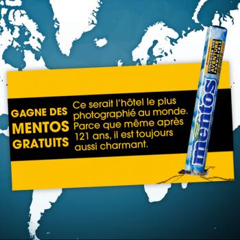 mentos concours 350x350 - Concours Mentos: Gagnez une boîte de Mentos