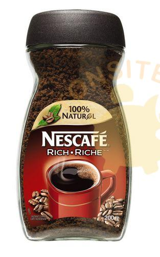nescafe riche - Café instantané Nescafé à 3,88$ au lieu de 7.49$ (sans coupon)