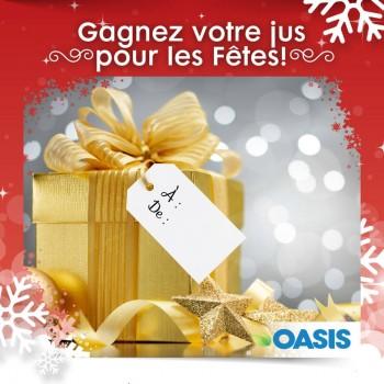oasis concours 350x350 - Concours Oasis: Gagnez du jus Oasis gratuit!