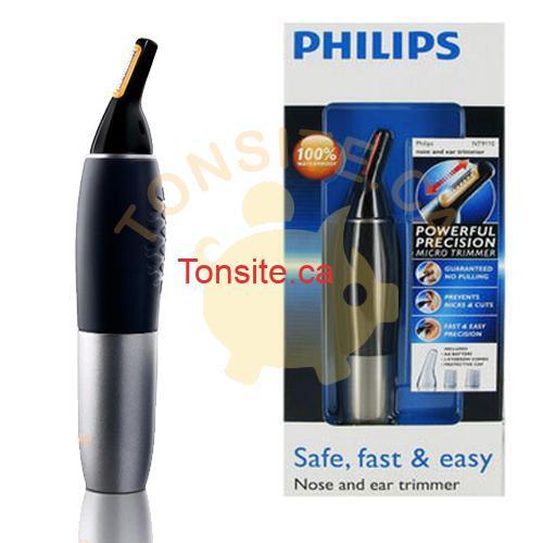 philips trimmer - Tondeuse Philips à 4,99$ après coupon