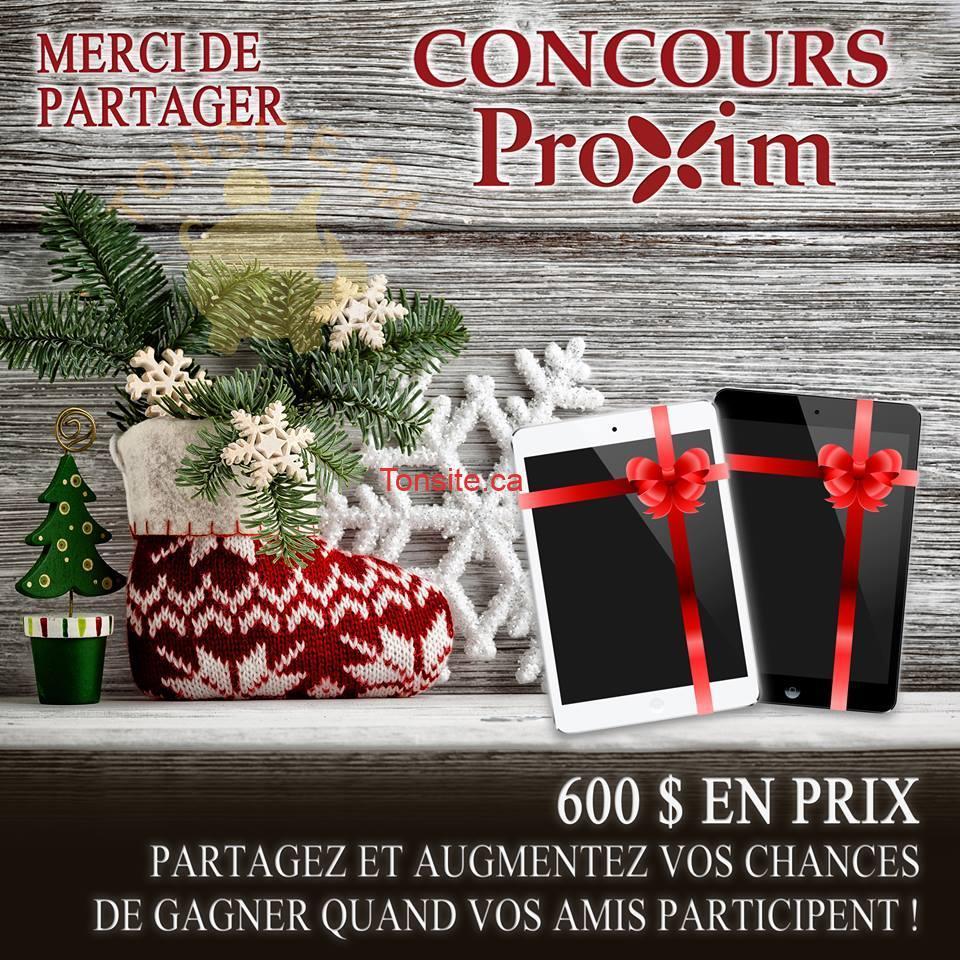 proxim concours - Concours Proxim: Gagnez 1 des 2 iPads minis d'une valeur de 300$