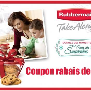 rubbermaid coupon 1 jpg 350x350 - Coupon rabais de 1$ sur les produits Rubbermaid