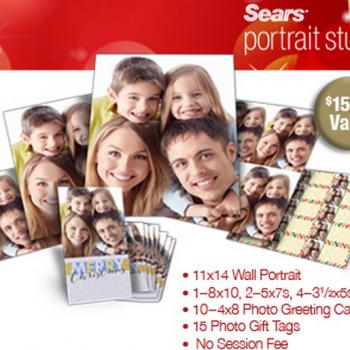 sears portrait 350x350 - Centre de photographie Sears: Paquet portrait entièrement gratuit (valeur de 160$)