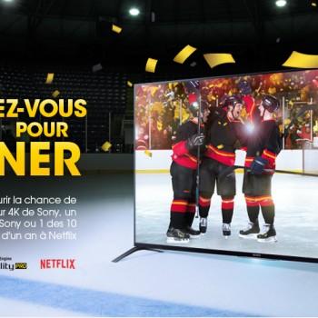 sony concours 350x350 - Concours Sony: Gagnez un téléviseur 4K de Sony, un lecteur Blu-ray ou 1 des 10 abonnements d'un an à Netflix