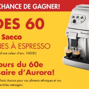 sweep.header.32341.fre  350x350 - Concours Aurora: gagner une des 60 machines à espresso de Saeco!