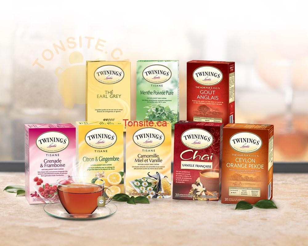 thwinings - GRATUIT: Obtenez 3 échantillons gratuits du thé Twinings