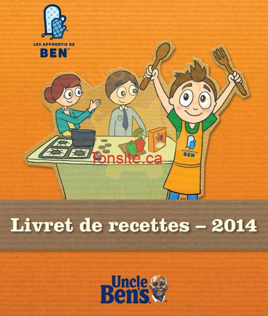 uncle bens recettes - GRATUIT: Obtenez le livret de recettes Uncle Ben's 2014 gratuit!