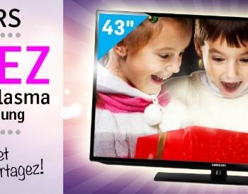 uploads 20141205T1950Z ce90c6b728fff974a0e60facbeaf8fa2 CONCOURS FACEBOOK PLASMA 3 350x274 - Concours Meubles Domon: gagner une télévision 43 pouces Samsung!