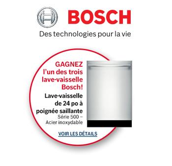 bosh concours faqi 350x338 - Concours Bosh: Gagnez l'un des trois lave-vaisselle Bosch