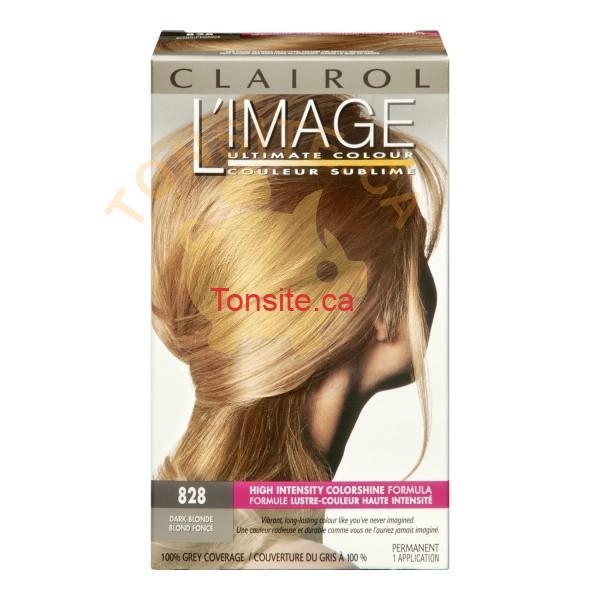 clairol limage 828 dark blonde 600x600 - Coloration pour cheveux Clairol L'image à 2,99$ après coupon