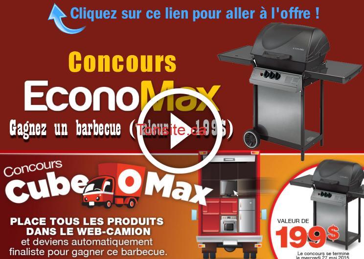 eccccccc - Concours Economax: Gagnez un barbecue (valeur de 199$)