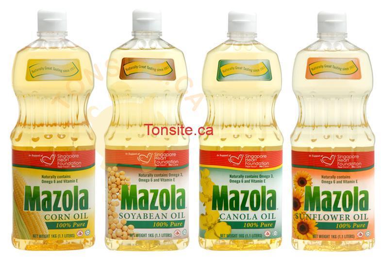 mazola - Huile de maïs Mazola (1,42 L) à 1$ au lieu de 5,49$
