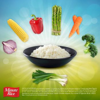 minute rice concours 350x350 - Concours Minute Rice: Gagnez 100$ et 5 coupons de gratuité pour les produits Minute Rice
