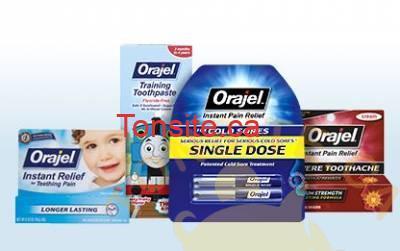 orajel kids and adults - Coupon rabais de 1$ sur tout produit Orajel