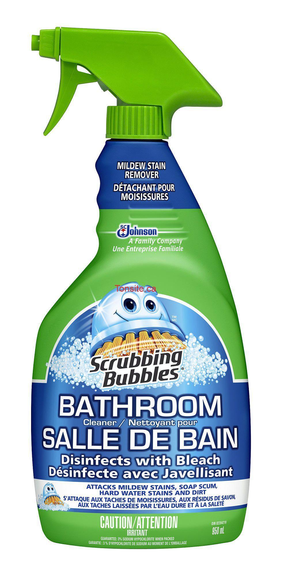 produit Scrubbing Bubbles Nettoyant pour salle de bain au choix - Achetez un produit Scrubbing Bubbles Nettoyant pour salle de bain au choix et obtenez-en 1 GRATUIT