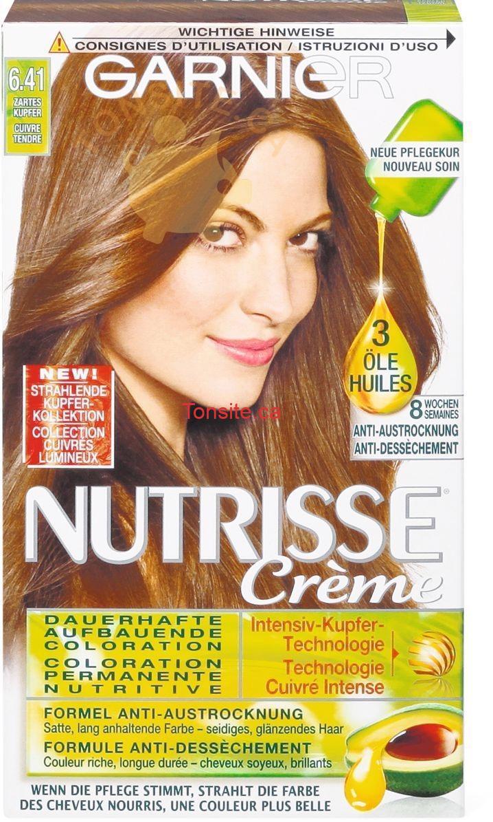 server - Mousse colorante Nutrisse de Garnier à 4.99$