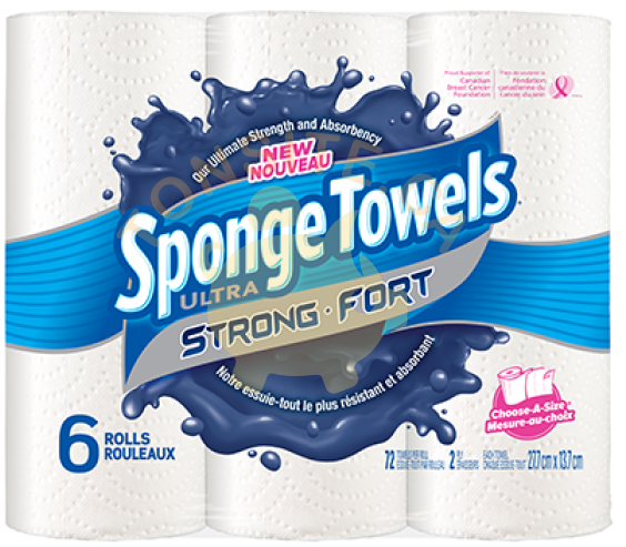 sponge towels ultra fort