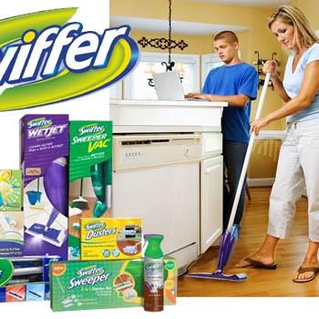 swiffer 350x350 - 3$ en coupons rabais sur les produits nettoyants pour planchers Swiffer