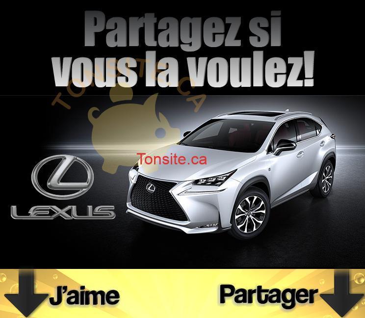 toyota concours jpg - Concours Toyota: Gagner un tout nouveau Lexus NX 200t F Sport 2015
