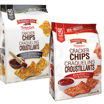 PepperidgeFarm craquelins 350x350 - Coupon rabais caché de 1$ sur les craquelins croustillants Pepperidge Farm