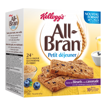 all bran 350x350 - Barres All-Bran Petit Déjeuner à 1.49$ au lieu de 3,49$