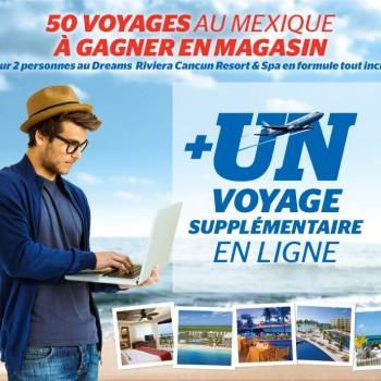 breault martineau concours mexique 350x350 - Concours Brault & Martineau: Gagnez un voyage pour 2 au Mexique!