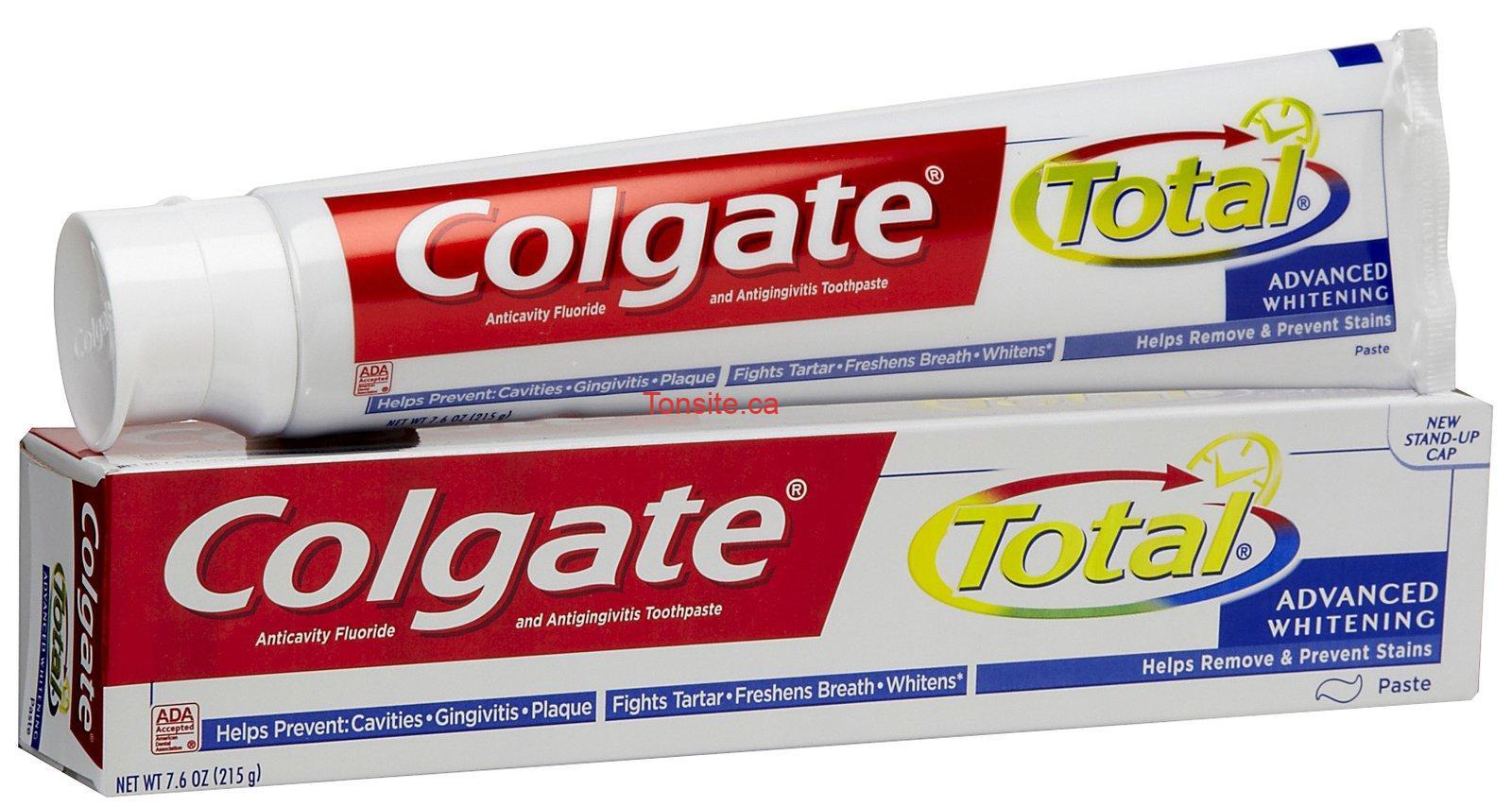colgate total advanced - Dentifrice Colgate GRATUIT après coupon