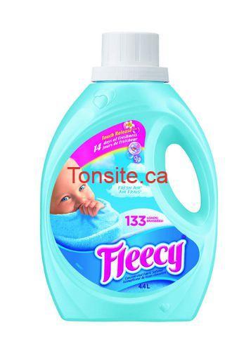 fleecy 133 - Assouplissant textile Fleecy (133 brassées ou 200 feuilles) à 3$ au lieu de 9.97$