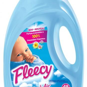 fleecy48 350x350 - Assouplisseur Textile Fleecy à 1.97$ au lieu de 5,48$
