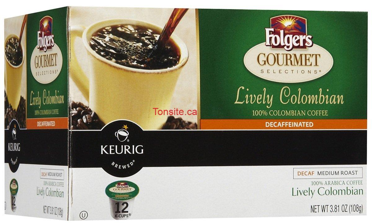 Photo of Capsules de café K-CUP folgers à 5,49$ au lieu de 8,99$