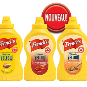 frenchs moutard yellow 350x350 - Moutarde French's à 1,29$ au lieu de 3,27$