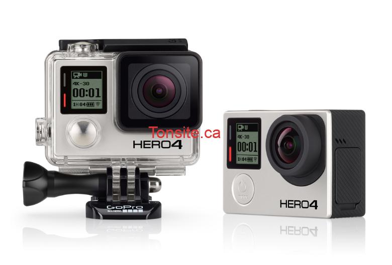 gopro hero4 - Concours Travelan Canada: Gagnez une caméra GoPro HERO4 Waterproof HD Sports and Helmet  valeur  de 450 $.