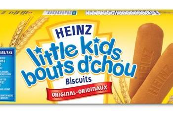 heinz biscuit 350x235 - Collations au yogourt, biscuit Farleys ou barres de céréales pour tout-petits Heinz à 1.50$ après coupon