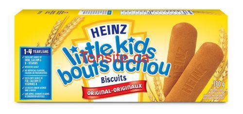 heinz biscuit - Collations au yogourt, biscuit Farleys ou barres de céréales pour tout-petits Heinz à 1.50$ après coupon