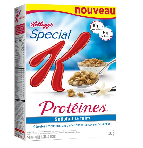 special k proteines cereal