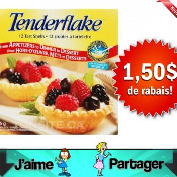 tenderflake 150 jpg 350x350 - Coupon rabais de 1,50$ sur les produits Tenderflake