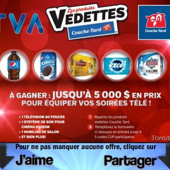 tva ct concours 350x350 - Concours TVA: Gagner jusqu'à 5000$ en prix pour équiper votre salon !
